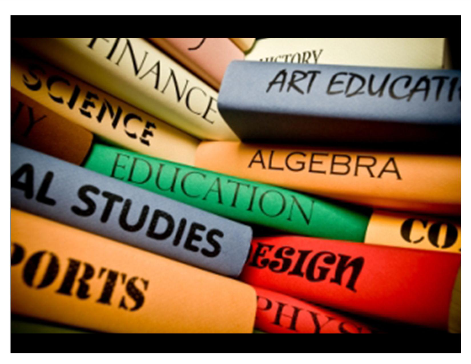 General Studies college subjects students need tutoring in